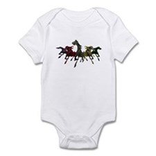 Horses of War Infant Bodysuit