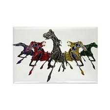 Horses of War Rectangle Magnet