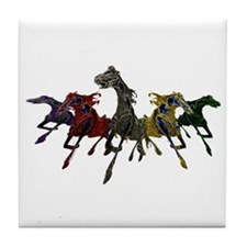 Horses of War Tile Coaster