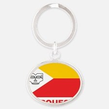 Marquesas - Marquises Oval Keychain