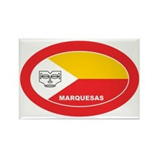 Marquesas - Marquises Rectangle Magnet