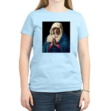 Virgin Mary in Prayer T-Shirt