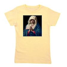 Virgin Mary in Prayer Girl's Tee