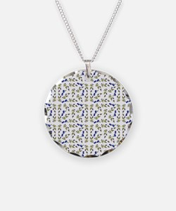Blueberries On Vine Repeat P Necklace