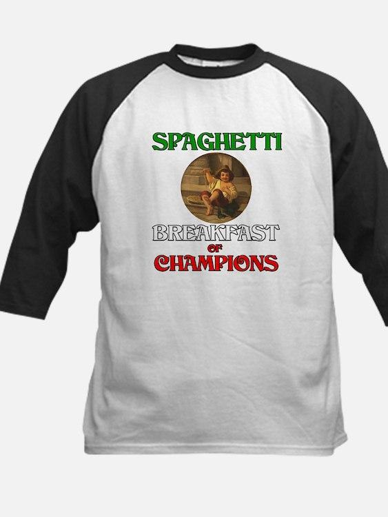 Spaghetti Breakfast of Champi Tee