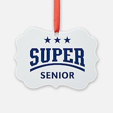 Super Senior (Blue) Ornament