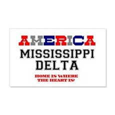 AMERICA REGIONS - MISSISSIPPI DEL Wall Decal