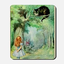 Alice in Wonderland the Cheshire Cat vin Mousepad