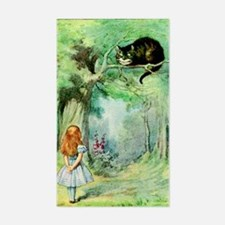 Alice in Wonderland the Cheshi Decal