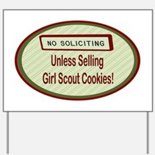 Labelno soliciting.png Yard Sign