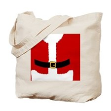 Santa Claus Suit Tote Bag
