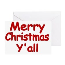 Merry Christmas Yall Greeting Card