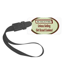 Labelno soliciting.png Luggage Tag