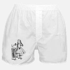Drink Me Alice in Wonderland vintage  Boxer Shorts