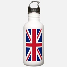 Union Jack Flag Water Bottle