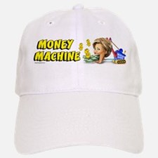 Hillary - Money Machine Baseball Baseball Cap