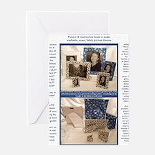 Kristie Hublers Fabricated Frames Wa Greeting Card