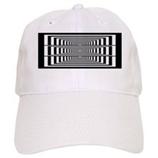 Optical Illusion Rectangles Baseball Cap
