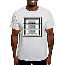 Optical Illusion Rectangles T-Shirt