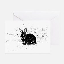 Spotted Rabbit Greeting Card