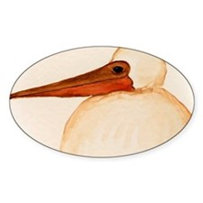 Brown Pelican Chick Decal