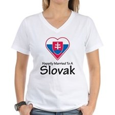 Happily Married Slovak Shirt