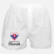 Happily Married Slovak Boxer Shorts