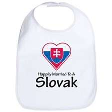Happily Married Slovak Bib