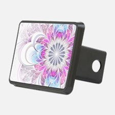 Unique Fractal Flower Hitch Cover