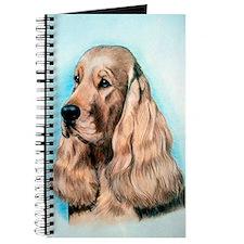 English Cocker Spaniel Dog Journal