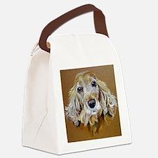 English Cocker Spaniel Dog Canvas Lunch Bag
