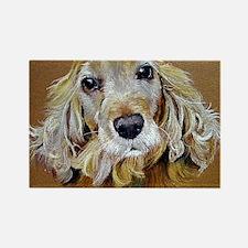English Cocker Spaniel Dog Rectangle Magnet