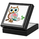 Owl Keepsake Boxes