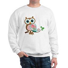 Vintage Owl Sweatshirt