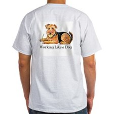Working Airedale T-Shirt