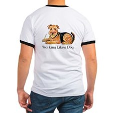 Working Airedale T