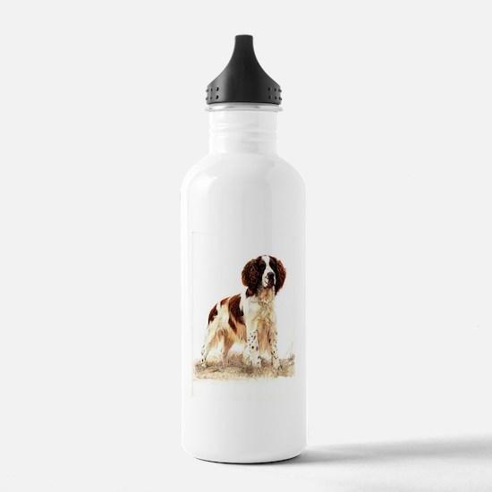 English Springer Spani Sports Water Bottle