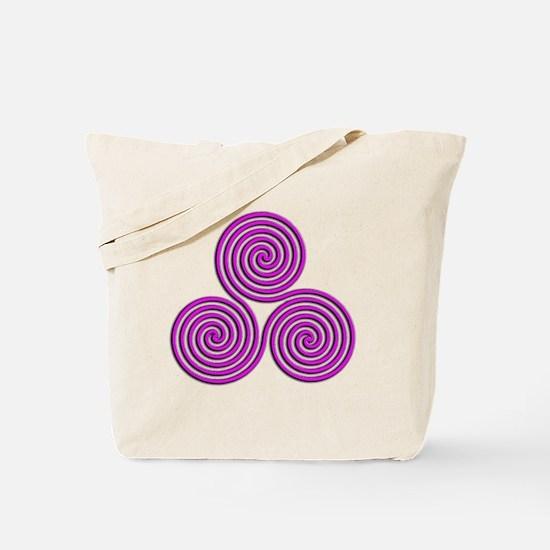 triskele Positively Pink Tote Bag