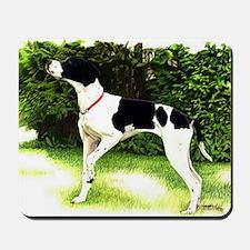 English Pointer Dog Portrait Mousepad