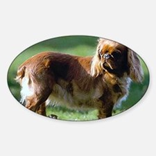 English Toy Spaniel Dog Portrait Decal