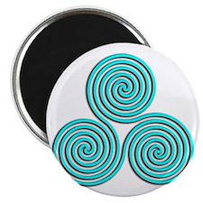 triskele Baby Blue Magnet