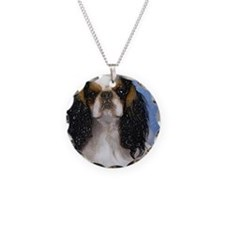 English Toy Spaniel Dog Port Necklace