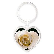 Buttons Heart Keychain
