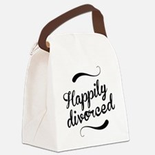 Happily divorced Canvas Lunch Bag