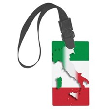Italy Italian Flag Luggage Tag