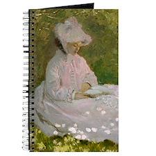 Monet Springtime Waters Journal