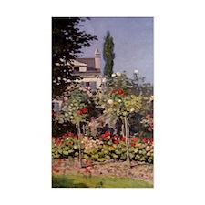 Monet Flowers in the Garden Decal
