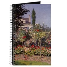 Monet Flowers in the Garden Journal