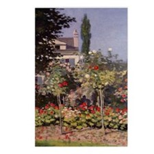 Monet Flowers in the Gard Postcards (Package of 8)