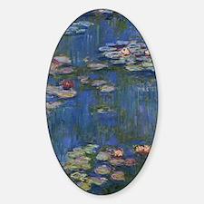Monet Water Lillies Art Decal